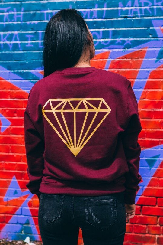 Sweatshirt - Burgundy RS