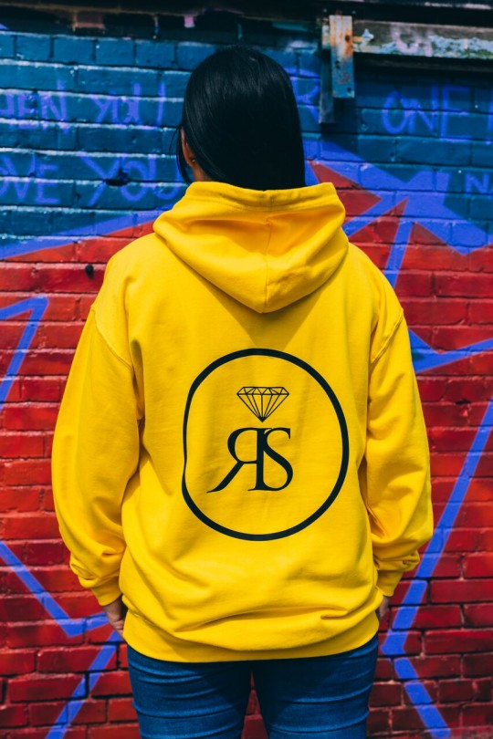 Hoodie College - Yellow - RS Logo