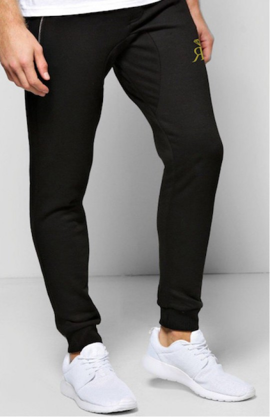 RS Skinny Fit Joggers - Black/Gold